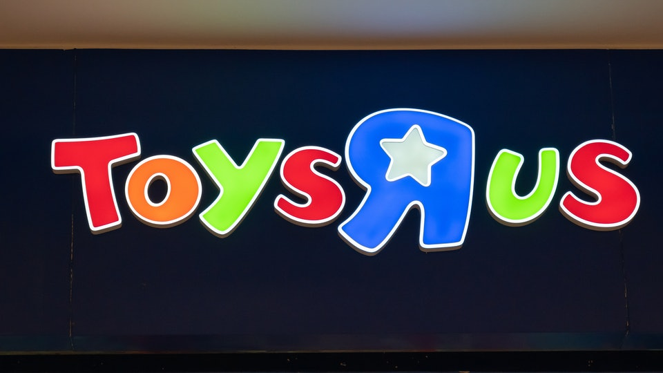 """Toys """"R"""" Us opened its first new retail store in the U.S. on Wednesday."""