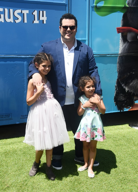 """Josh Gad's daughters are """"over"""" him playing Olaf from 'Frozen.'"""