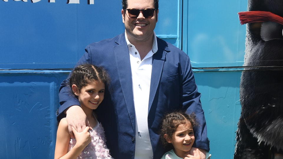 "Josh Gad's daughters are ""over"" him playing Olaf from 'Frozen.'"