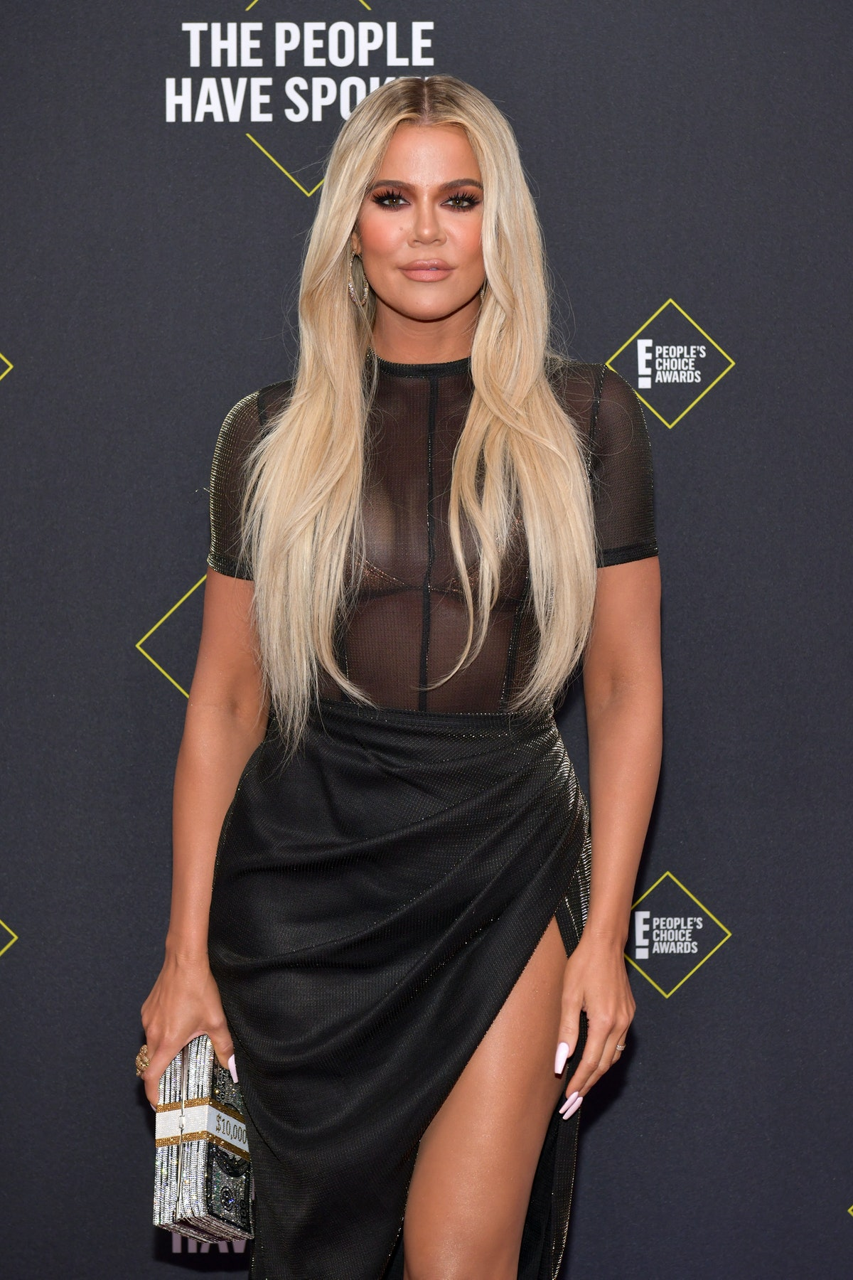 Khloe Kardashian hit the gym on Thanksgiving