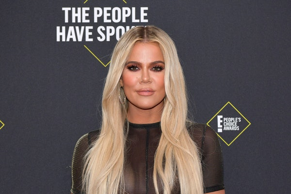 Khloe Kardashian hit the gym on Thanksgiving