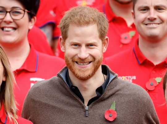 "Prince Harry was called ""handsome"" over the weekend and handled the compliment with ease."
