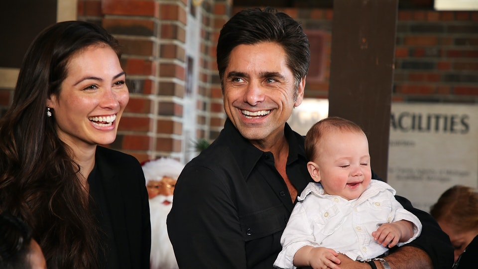 John Stamos revealed his son Billy's first words in a recent interview.