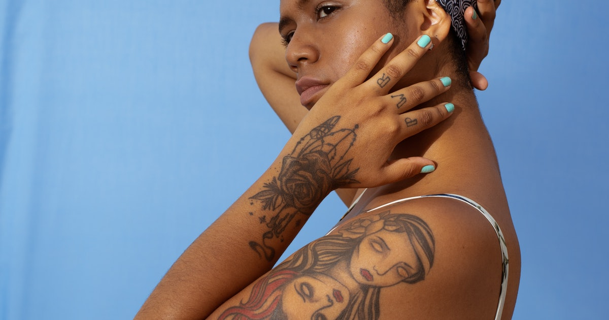 Tattoos On Brown Skin: 4 Myths About Tattooing On Dark Skin That Are Completely