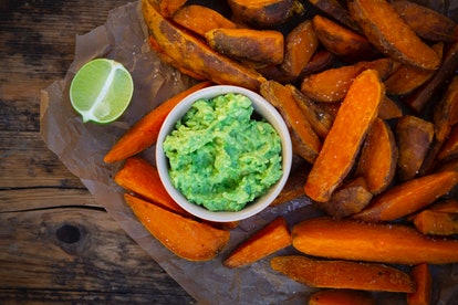Sweet potatoes are good for your gut.