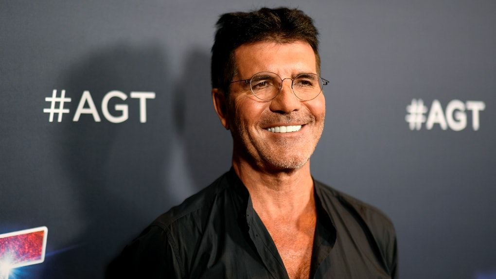 Simon Cowell hits the red carpet at an AGT event.