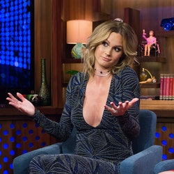 Meghan King Edmonds on 'Watch What Happens Live with Andy Cohen' in 2016