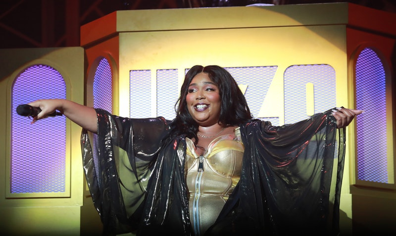 Lizzo's British Vogue cover is here.
