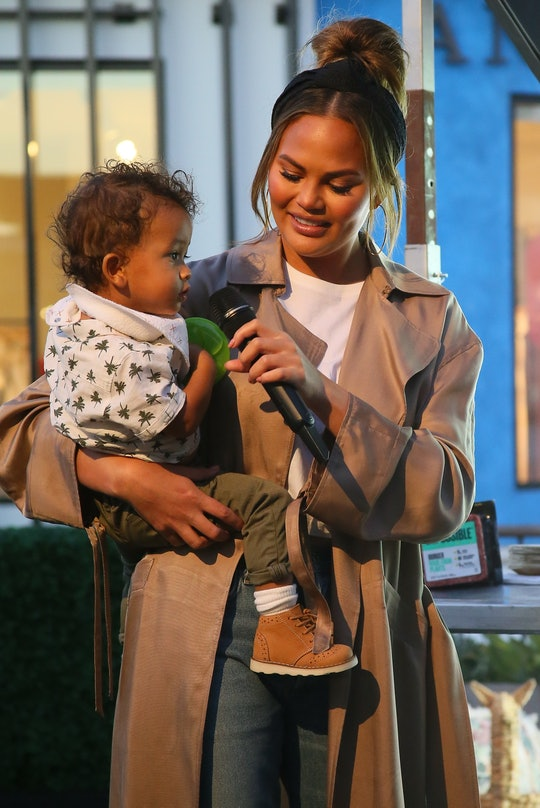 Chrissy Teigen loves this stage of her kids' lives as toddlers.