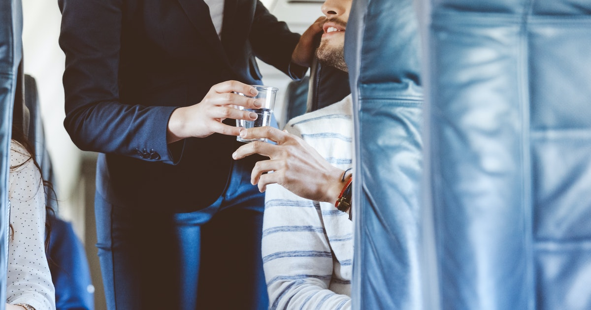 Water Served On Most U.S. Airlines Found Unsafe For Drinking In New Study