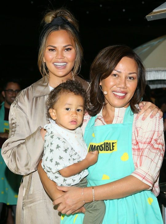 Chrissy Teigen's mom Vilailuck lives with her and helps take care of kids Miles and Luna