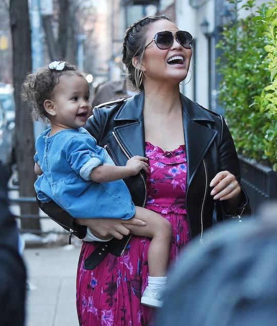 Chrissy Teigen is one of many celebrity moms to follow on Instagram.
