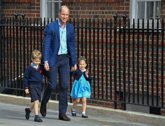 Seen here with Prince George and Princess Charlotte, Prince William recently revealed that his free time from being a dad is spent napping.