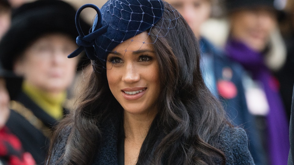 Meghan Markle's  makeup mishap became a souvenir for one royal well wisher.