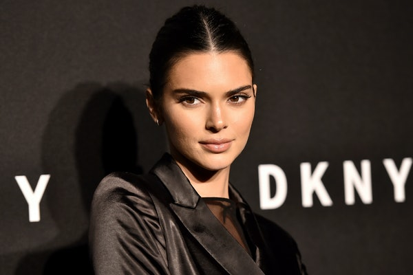 Kendall Jenner attends an event for DKNY.