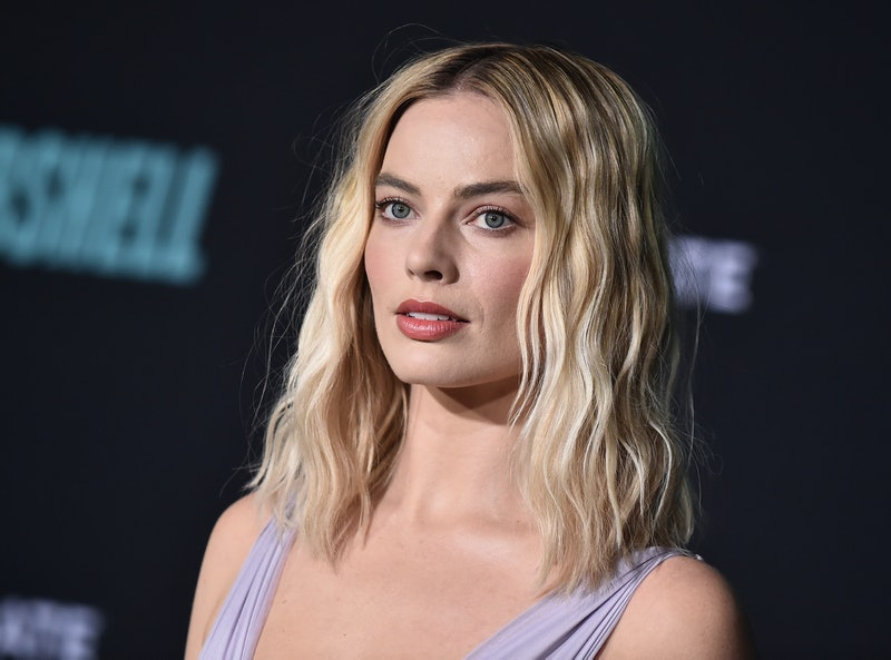 Margot Robbie's Chanel makeup at the 'Bombshell' premiere