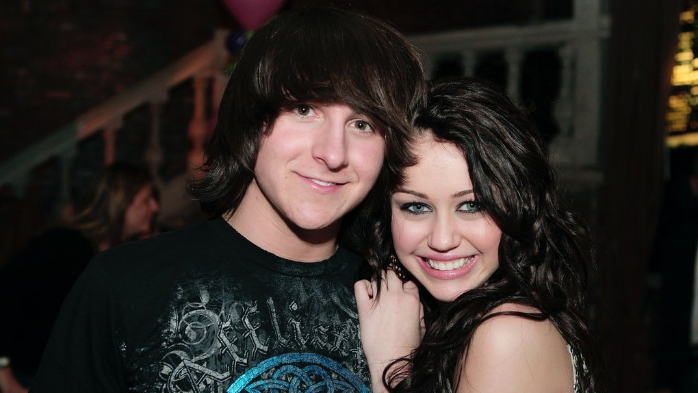 Miley Cyrus & Mitchel Musso Are Still Friends