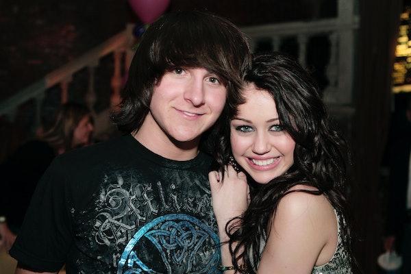 Miley Cyrus & Mitchel Musso Are Still Friends