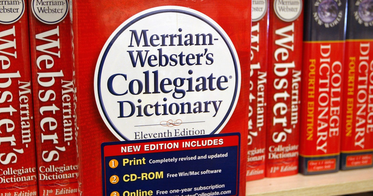Merriam Webster's 2019 Word Of The Year Is A Personal Pronoun On The Rise