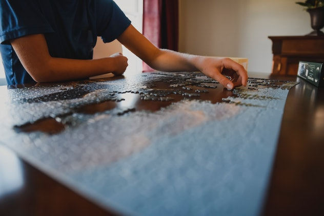 A custom photo puzzle is one fun way to preserve your kid's childhood.