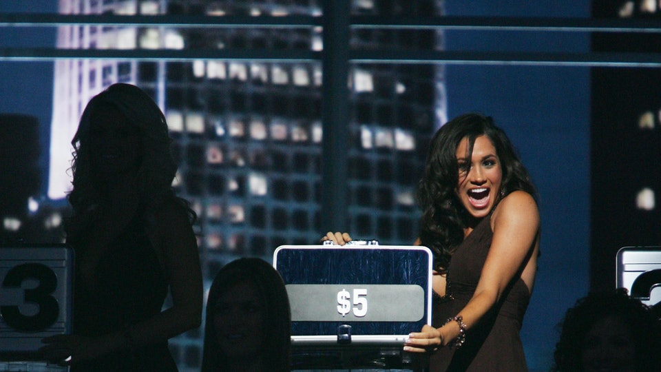 """The briefcase Megan Markle held during her stint on """"Deal or No Deal"""" is going up for auction."""