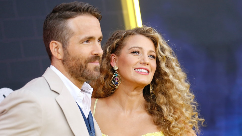 Ryan Reynolds joked about his new daughter's name.