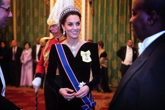 Kate Middleton wore Princess Diana's tiara to a recent event.