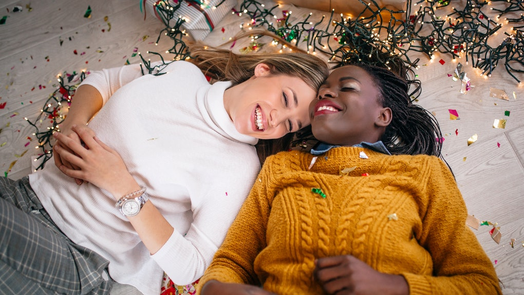 Movie quotes make good Instagram captions for Christmas pictures with your partner