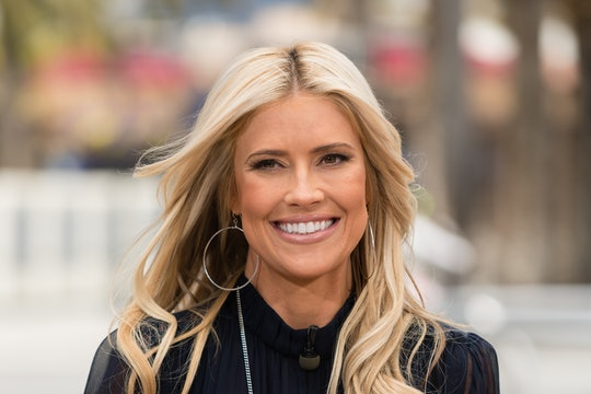 Christina Anstead sat with Tarek El Moussa's family at their daughter's Christmas show.