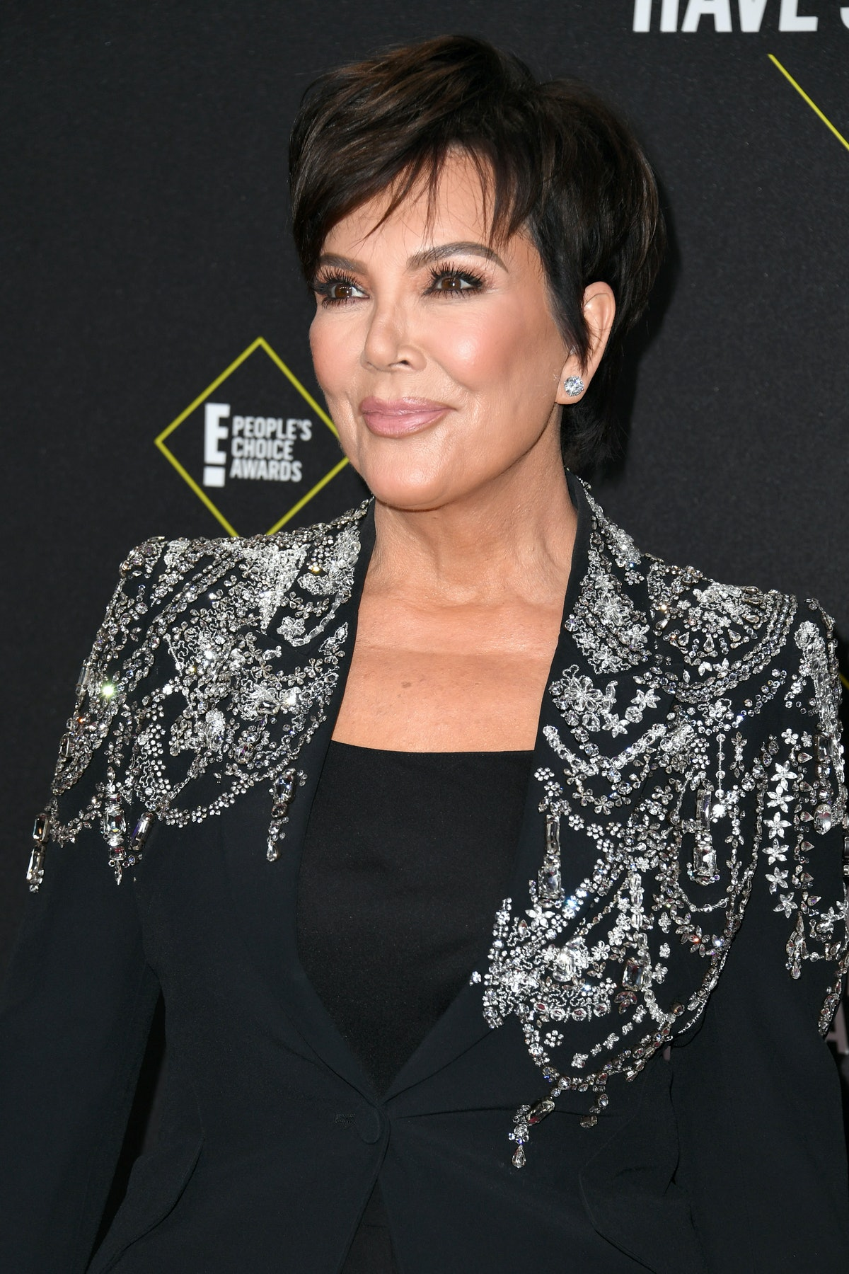 Kris Jenner attends the People's Choice Awards.