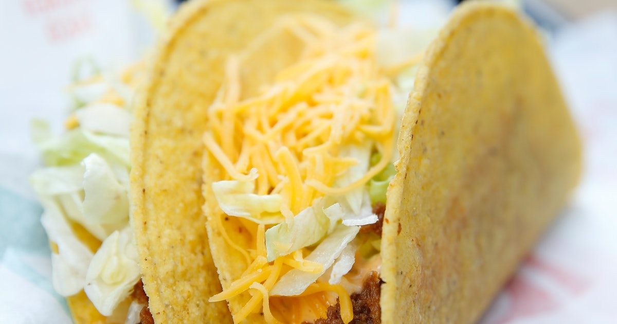 Taco Bell's Oatrageous Taco Is A Vegetarian Dream, But It's Not In America Yet
