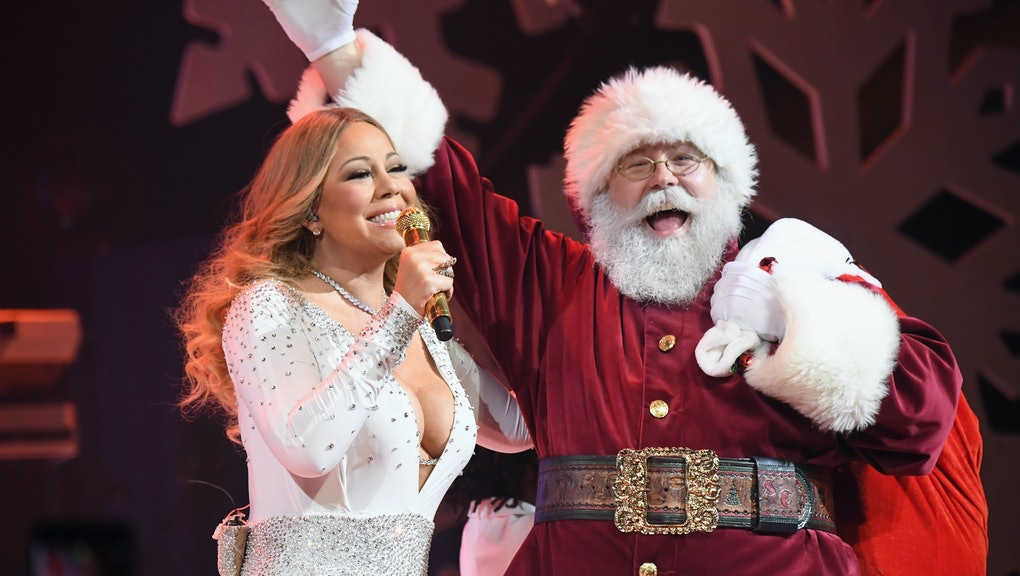 Finally, Mariah Carey's 'All I Want For