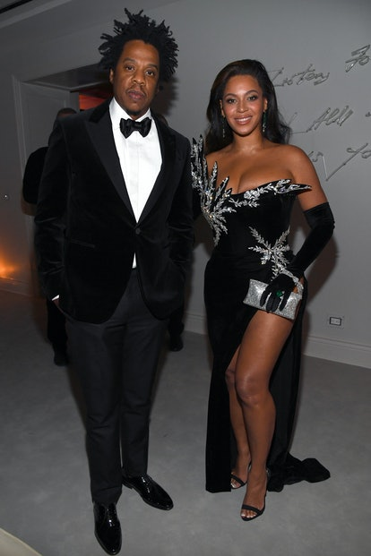 Beyonce's gown for Diddy's 50th birthday was so glam.