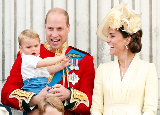 Kate Middleton has revealed that one of Prince Louis' first words was inspired by a famous cook.