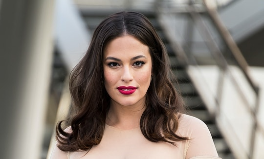 Ashley Graham revealed how much weight she's gained during her pregnancy.