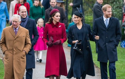 """The """"Fab Four"""" were the main draw at last year's royal Christmas walk to church."""