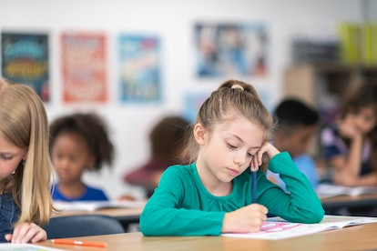 Positive self-talk during exams improves math scores, study finds