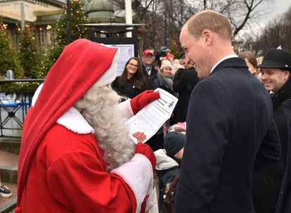 Prince George has his letter to Santa written and sent.