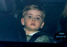 Prince Louis was dressed for the holidays at a recent Christmas lunch at Buckingham Palace