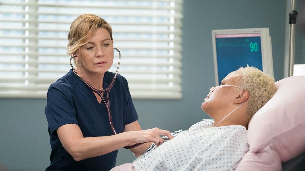 Meredith in 'Grey's Anatomy' Season 16