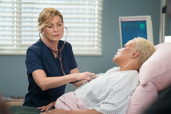 Meredith in 'Grey's Anatomy' Season 16