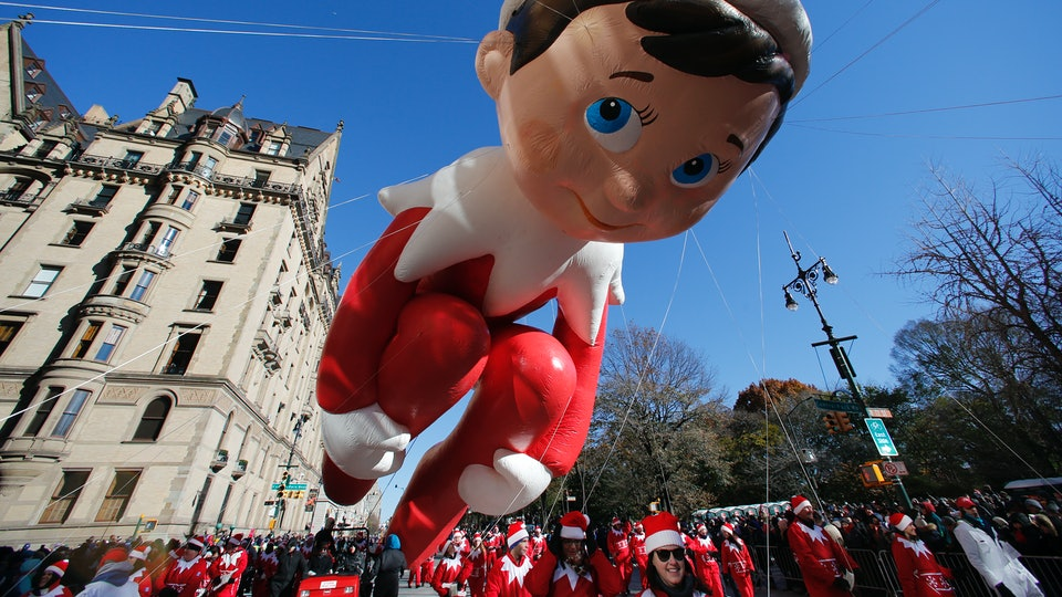 It's never too late for Elf on the Shelf.
