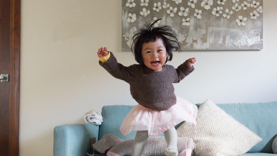 Toddlers who jump off of couches make parents wonder if toddlers ever sit still.