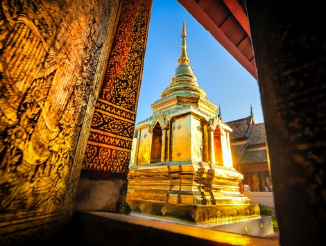 A temple in Thailand, one of the top countries tour operators recommend millennials travel in 2020.