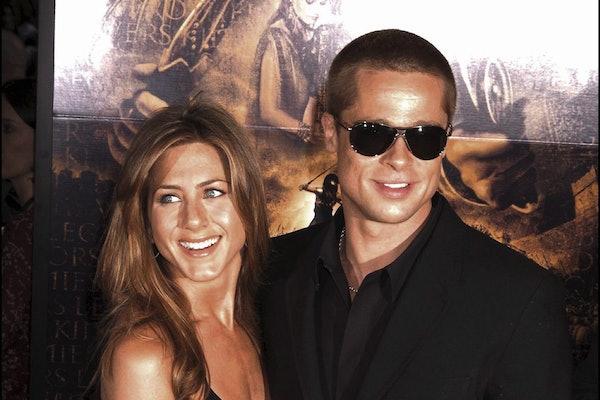 Jennifer Aniston and Brad Pitt hit the red carpet