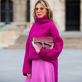 2019's top fashion searches included oversized sweaters.