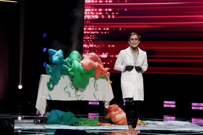 Miss America 2020, Camille Schrier, demonstrated a science experiment of epic proportions during the...