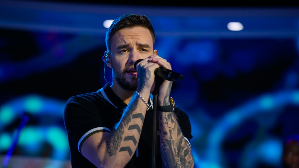 Liam Payne performs live in concert.