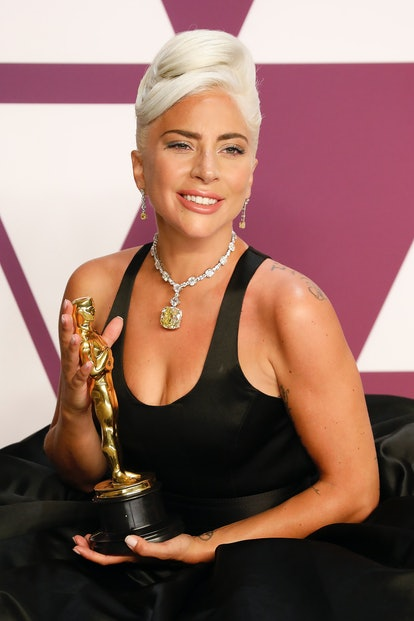 Lady Gaga's Tiffany necklace was one of the top celebrity style searches of  2019.