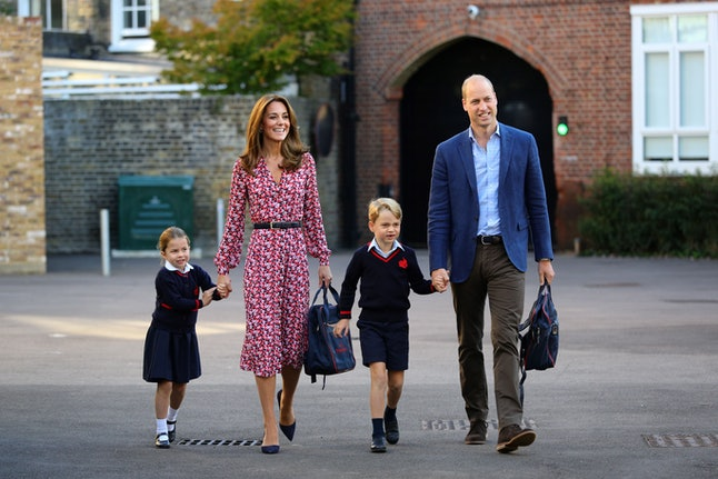 Prince George and Princess Charlotte will walk to Christmas services.